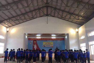 Trường THPT Lương Thế Vinh tổ chức thành công Hội thao Giáo dục Quốc phòng an ninh năm học 2020 – 2021